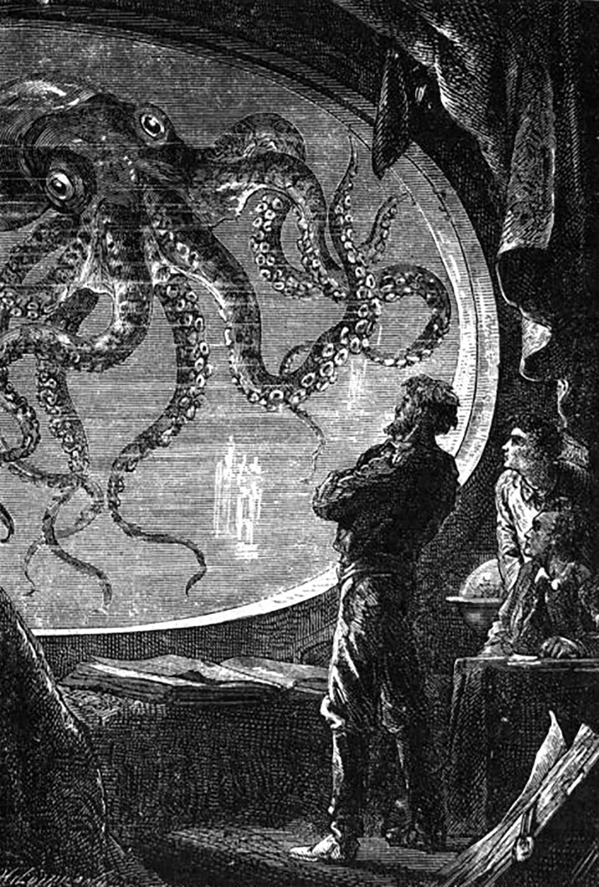 captain Nemo and the octopus